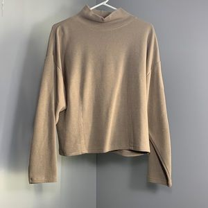 """Express """"Tricot"""" turtleneck sweater"""